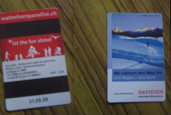 Front and back of the same ticket :D